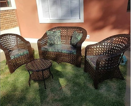 Conjunto de sofá para jardim