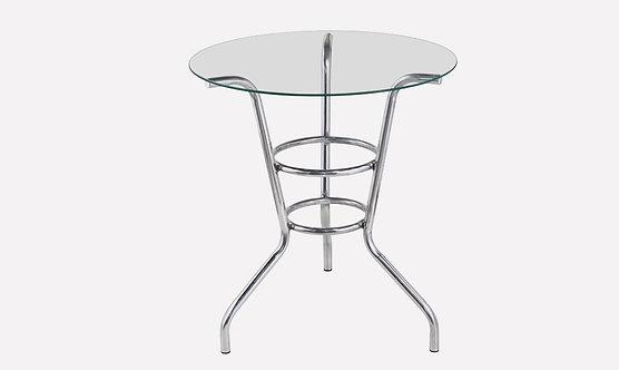 Base de mesa com vidro