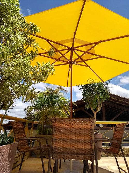 Buriti com ombrelone