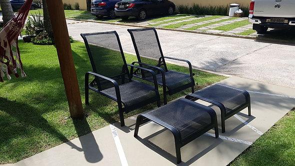 Mini Chaise Lótus c/Puff