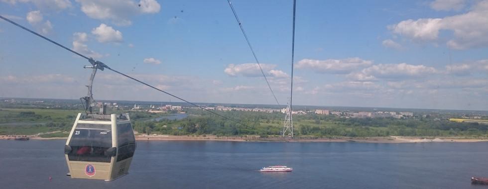 Канатная дорога Н.Новгород
