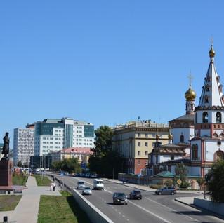Иркутск собор Богоявления