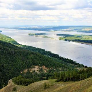 Панорама с горы Стрельная