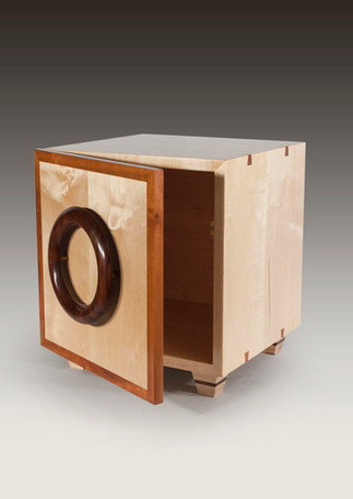 Game cabinet and speaker stand