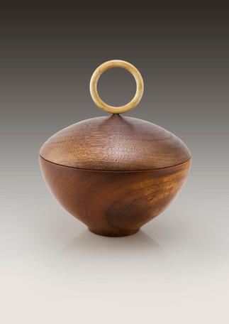 Mahogany Walnut & maple box