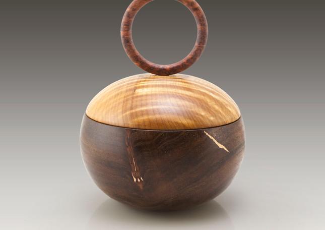 Mahogany, maple & cedar box