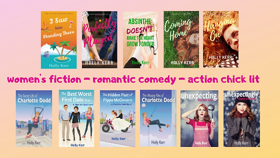 women's fiction - romantic comedy - acti