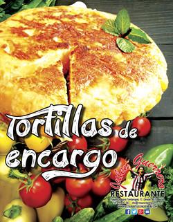 Tortillas de encargo