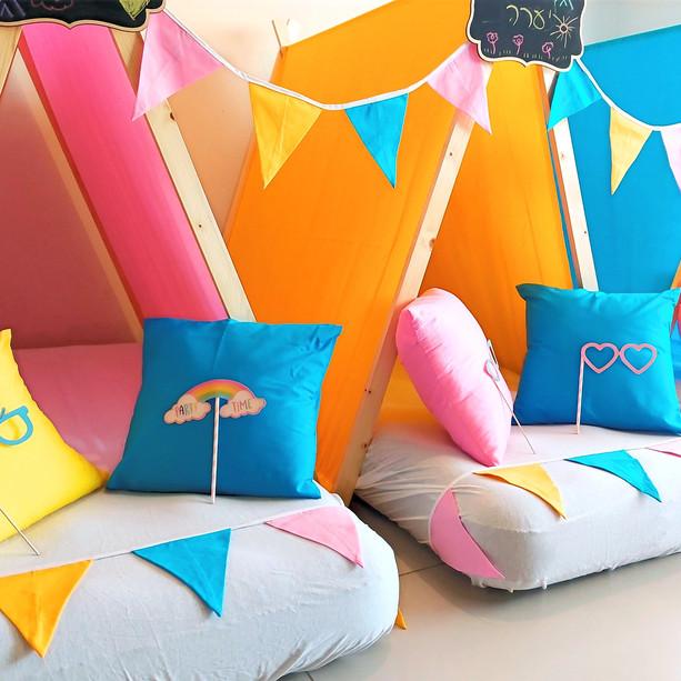 יום הולדת אוהלים מסיבת קיץ