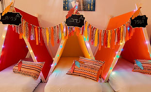 יום הולדת אוהלי טיפי מסיבת אינדיאנים