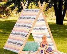 אוהל טיפי לילדים