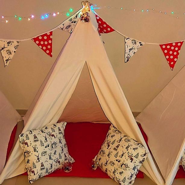 השכרת אוהלי טיפי לבנים לימי הולדת