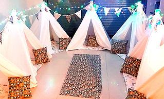 יום הולדת אוהלי טיפי היער הקסום