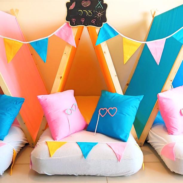 יום הולדת אוהלים - מסיבת קיץ