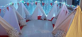 יום הולדת אוהלים מסיבת חג המולד