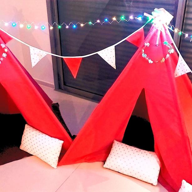 השכרת אוהלי טיפי לימי הולדת