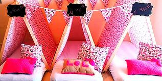 יום הולדת אוהלי טיפי מסיבת LOL