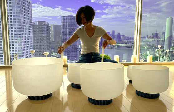 Crystal Bowl in Tokyo