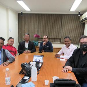 Reunião no Gabinete do Poder Central da GLOMN visando 2022