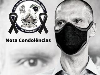 Nota de Condolências pela morte de Bruno Covas