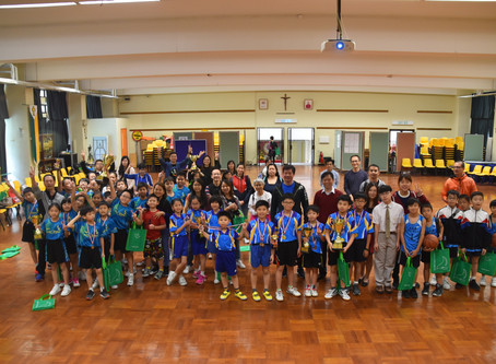 YCK2 Trophy Primary Basketball and Table-tennis Invitational Tournaments Results振強盃小學籃球及乒乓球邀請賽賽果