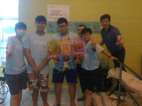 2016 HKUST Hosts Underwater Robot Competition