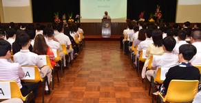 School Commencement Ceremony 2017 開學日