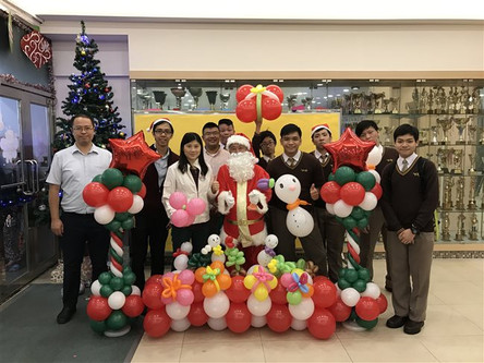 TKTCPS Christmas game booth