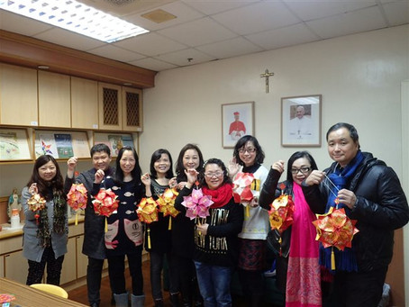 PTA DIY Chinese New Year Red Packets Decoration workshop PTA 新春吊飾工作坊
