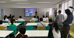 English workshop at school filmed by RTHK. 港台拍攝本校英語工作坊