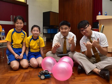 STEAM MBOT--Programming Experience Day                         STEAM MBOT小學編程體驗日