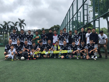 Alumni Football Team won Championship 校友會足球隊勇奪冠軍