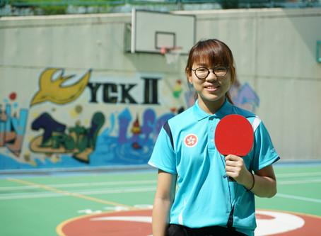 Ms. NG Ka-lee  Sports Program Coordinator of YCK2 余振強紀念第二中學體育推廣大使--吳嘉莉