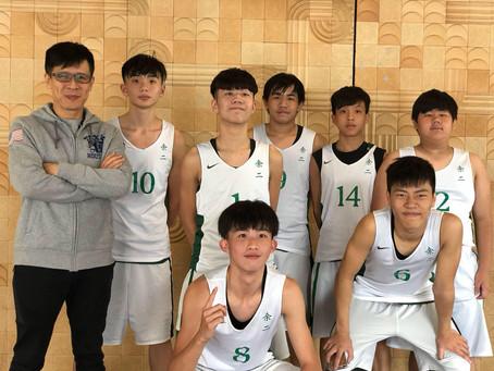 喜訊!男子乙組籃球隊勇奪冠軍