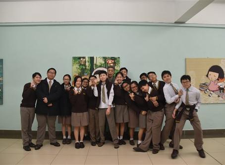 YCK2 Student Journalists visited Miss Prudence Mak of Chocolate Rain