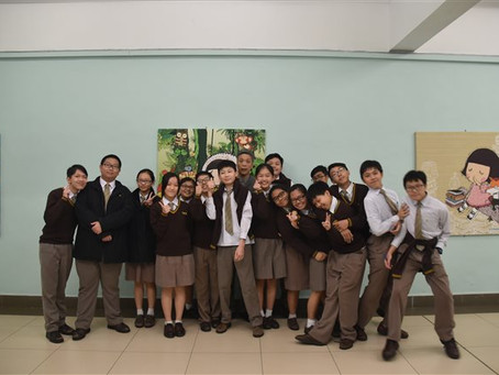 YCK2 Student Journalists visited Miss Prudence Mak of Chocolate Rain