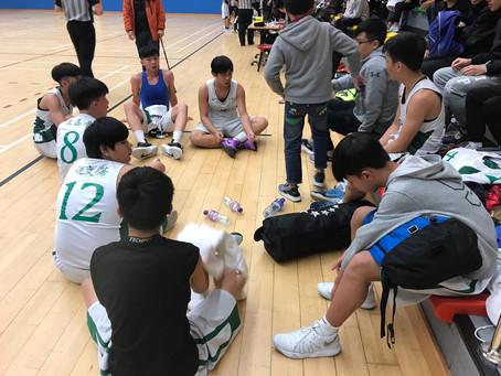男子乙組籃球隊進入決賽