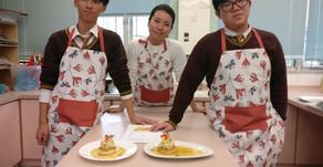 黎洛夆同學及羅俊鍵同學勇奪第一屆健康烹飪比賽冠軍