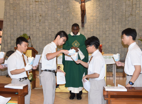 Opening Mass and Student Leaders Inauguration