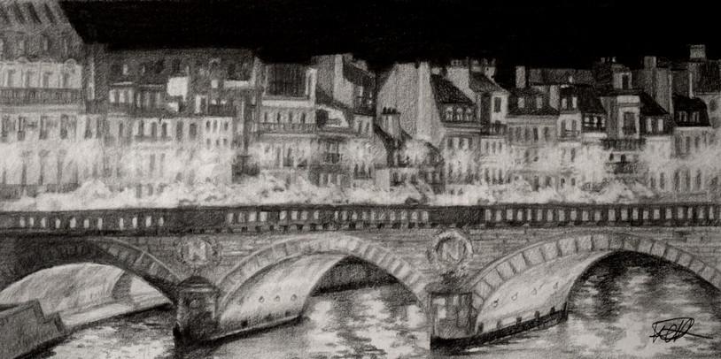 Paris dans la Nuit