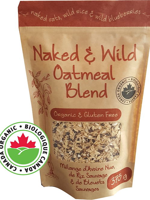Naked and Wild Oatmeal Blend (375g)