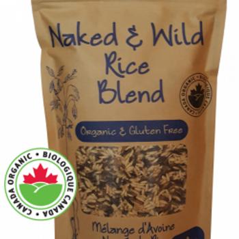 Organic Naked & Wild Rice Blend (600g)