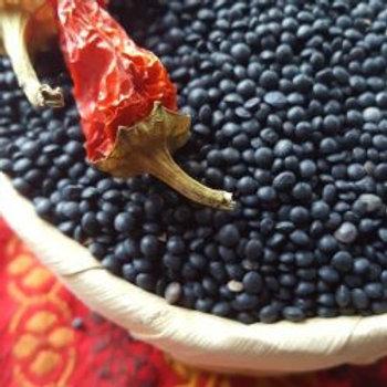 Organic Black Beluga Lentils (900g)