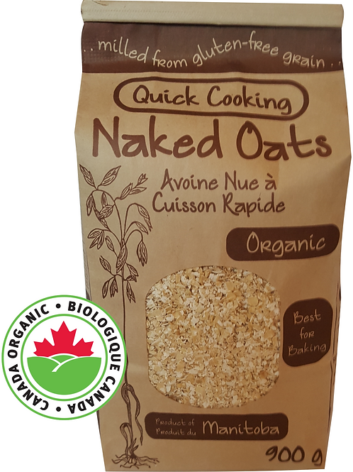 Quick Cooking Naked Oats (900g)