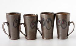 Black Luster Mugs