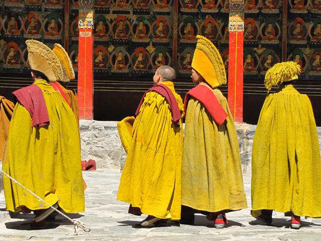 Tashilunpo Monastery, Lhasa, Tibet