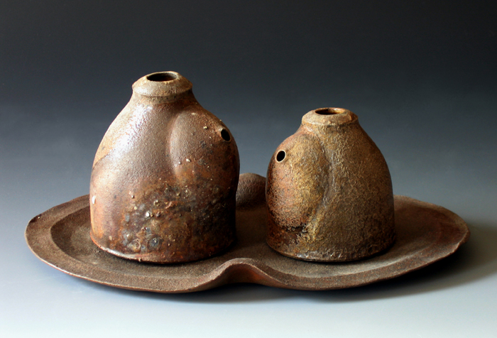 Woodfired Oil & Vinegar Set