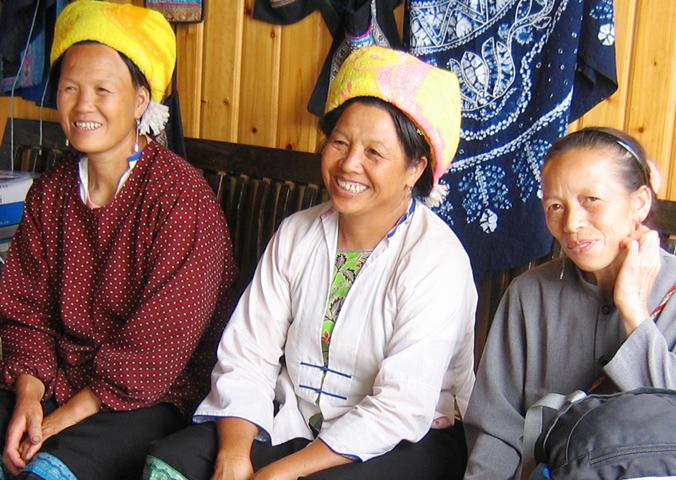 Zhuang Women, Longsheng, China
