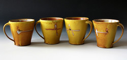 Canary Orchid Mugs