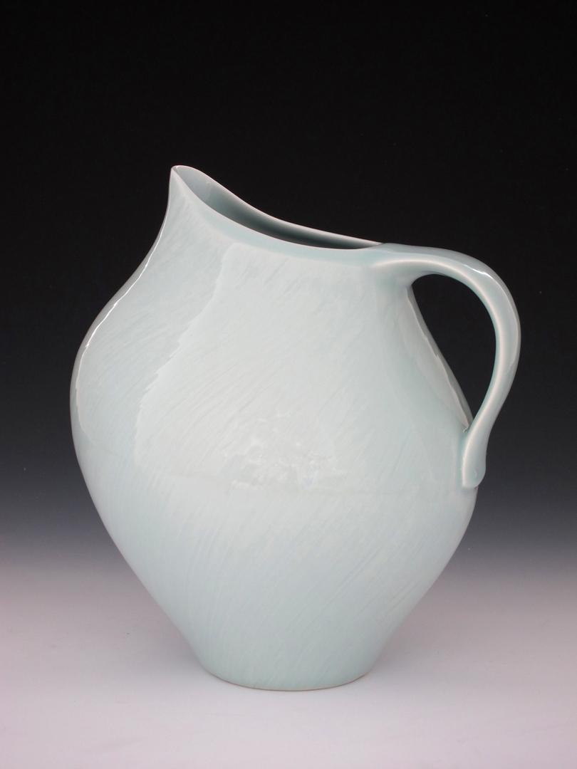Porcelain Bird Pitcher